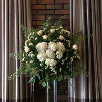Dekoracja kwiatowa - wesele - 6 Szpilek