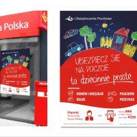 6 Szpilek - Poczta Polska - Ubezpieczenia Pocztowe - layout - projekt graficzny